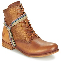 Zapatos Mujer Botas de caña baja Felmini MOSTAZA Camel