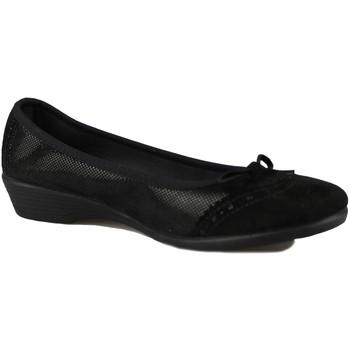 Zapatos Mujer Bailarinas-manoletinas Vulladi SERRAJE LETINA NEGRO