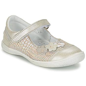 Zapatos Niña Bailarinas-manoletinas GBB PRATIMA Gris / Plata