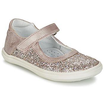 Zapatos Niña Bailarinas-manoletinas GBB PLACIDA Rosa / Oro