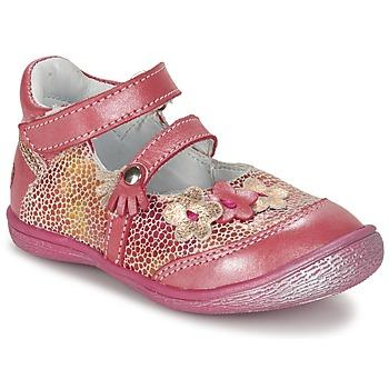 Zapatos Niña Bailarinas-manoletinas GBB PIA Rosa