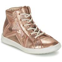 Zapatos Niña Zapatillas altas GBB PRUNELLA Rosa / Oro