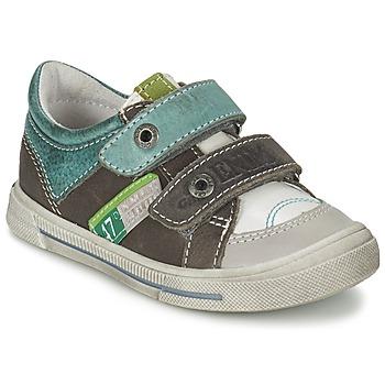 Zapatos Niño Zapatillas bajas GBB PHIL Vtu / Blanco verde / Dpf / Snow