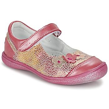 Zapatos Niña Bailarinas-manoletinas GBB PRATIMA Vte / Coral / Dpf / 2787