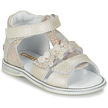 Zapatos Niña Sandalias GBB PING Gris / Plata