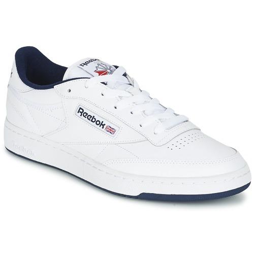 Zapatos Hombre Zapatillas bajas Reebok Classic CLUB C 85 Blanco / Azul