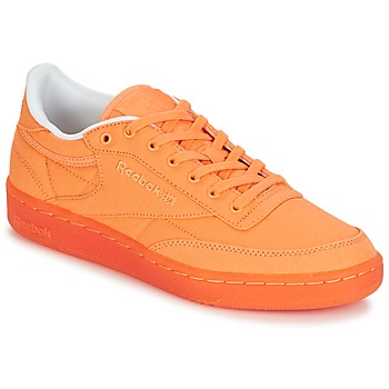 Zapatos Mujer Zapatillas bajas Reebok Classic CLUB C 85 CANVAS Naranja