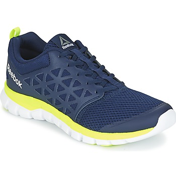 Zapatos Hombre Fitness / Training Reebok Sport SUBLITE XT CUSHION Azul / Amarillo