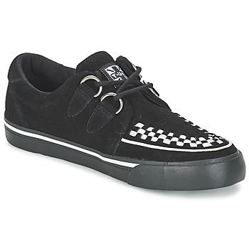 Zapatos Zapatillas bajas TUK CREEPERS SNEAKERS Negro / Blanco