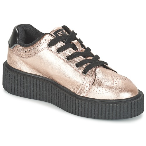 Zapatos promocionales TUK CASBAH CREEPERS Rosa / Metalico  Zapatos casuales salvajes