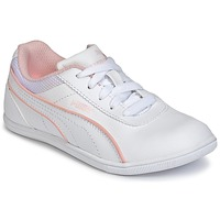 Zapatos Niña Zapatillas bajas Puma JR MYNDY 2 SL.WHT Blanco