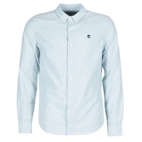 textil Hombre camisas manga larga Timberland LS RATTLE RIVER OXFORD SHIRT SLIM Azul