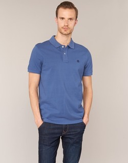textil Hombre polos manga corta Timberland SS MILLERS RIVER PIQUE REG POLO Azul
