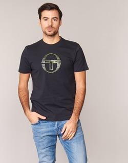 textil Hombre camisetas manga corta Sergio Tacchini DAVE TEE-SHIRT Negro