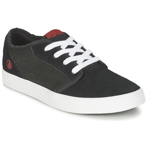 Zapatos Niños Zapatillas bajas Volcom GRIMM 2 BIG YOUTH Negro