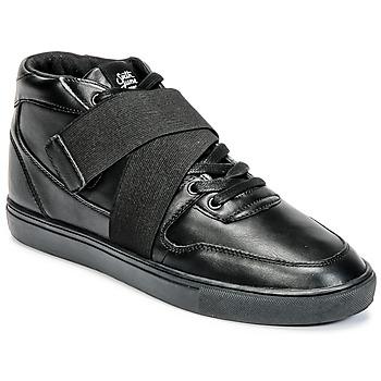 Zapatos Hombre Zapatillas altas Sixth June NATION STRAP Negro