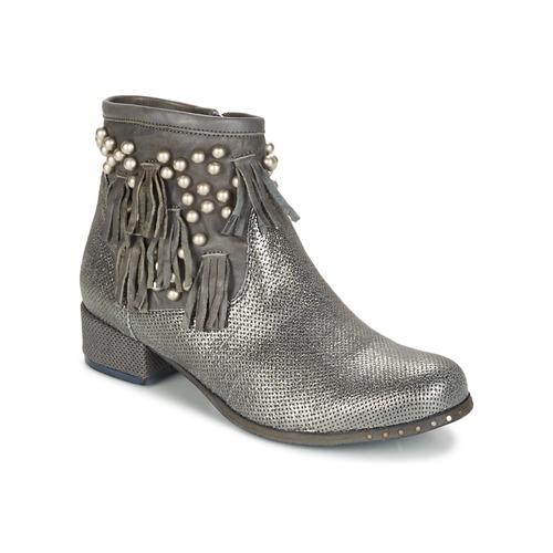 Los últimos zapatos de descuento para hombres y mujeres Zapatos especiales Mimmu MOONSTROP Topotea / Plata