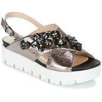 Zapatos Mujer Sandalias Luciano Barachini TANITI Gris