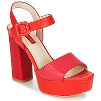 Zapatos Mujer Sandalias Luciano Barachini TABINO Rojo