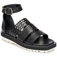 Zapatos Mujer Sandalias Now PADOU Negro
