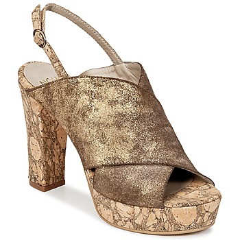Zapatos Mujer Zuecos (Clogs) Now PALISSA Bronce