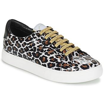 Zapatos Mujer Zapatillas bajas Marc Jacobs EMPIRE LACE UP Leopardo