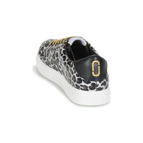 Marc Zapatos Bajas Jacobs Zapatillas Empire Mujer Up Leopardo Lace kZuTOPiX