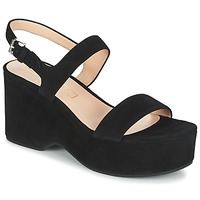 Zapatos Mujer Sandalias Marc Jacobs LILLYS WEDGE Negro
