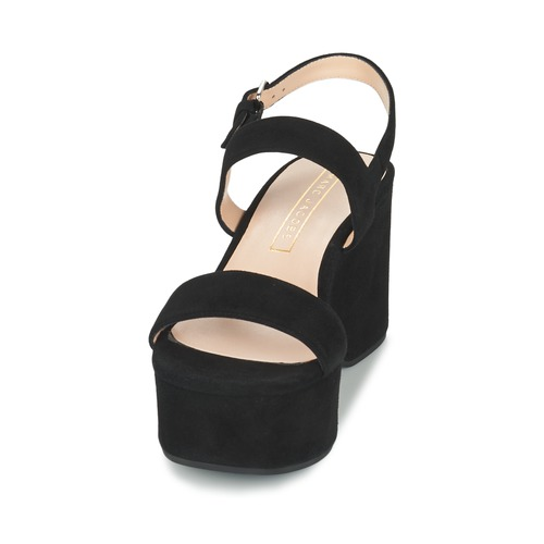 Mujer Sandalias Lillys Marc Wedge Negro Zapatos Jacobs 3lKJ1cFT