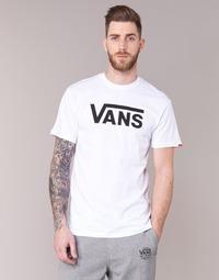 textil Hombre camisetas manga corta Vans VANS CLASSIC Blanco