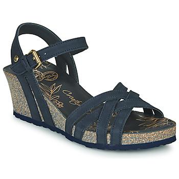 Zapatos Mujer Sandalias Panama Jack VERA Marino