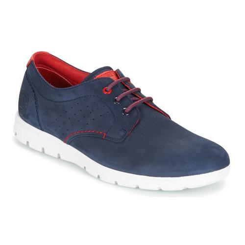 Zapatos especiales para hombres y mujeres Panama Jack DOMANI Marino / Rojo