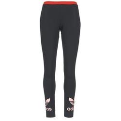 textil Mujer leggings adidas Originals TREFOIL LEGGING Negro / Rosa