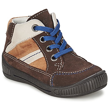 Zapatos Niño Botas de caña baja Superfit  Marrón