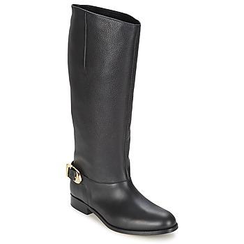 Zapatos Mujer Botas urbanas Moschino Cheap & CHIC BUCKLE Negro