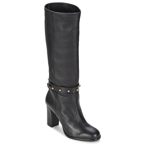 Zapatos Mujer Botas urbanas Moschino Cheap & CHIC STUD Negro