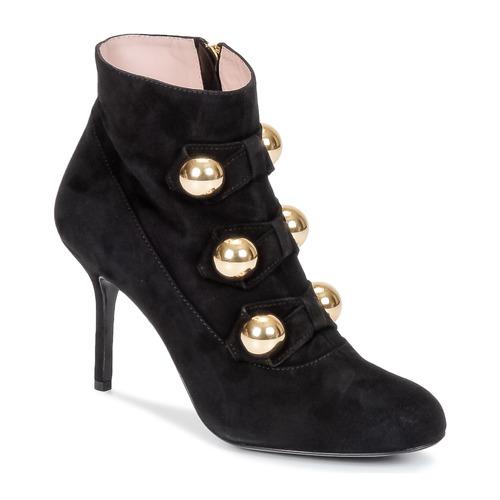 Zapatos Mujer Botines Moschino Cheap & CHIC BOW Negro
