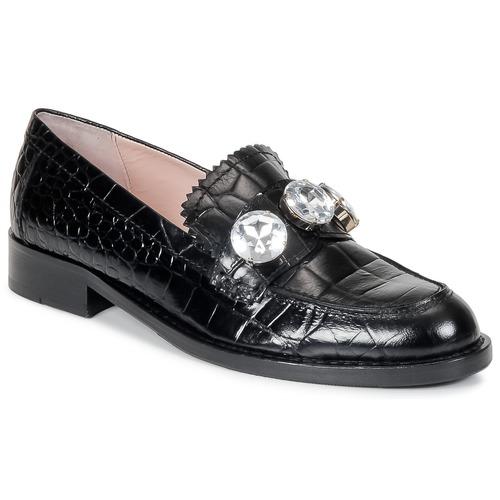 Zapatos Mujer Mocasín Moschino Cheap & CHIC STONES Negro