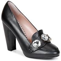 Zapatos Mujer Zapatos de tacón Moschino Cheap & CHIC STONES Negro