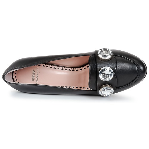 Zapatos Mujer Cheapamp; Stones De Tacón Chic Moschino Negro wOk0n8PX