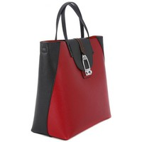 Bolsos Mujer Bolso shopping La Martina CABALLITO RED BLACK Rosso