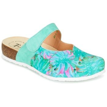 Zapatos Mujer Zuecos (Clogs) Think SOREN Turquesa