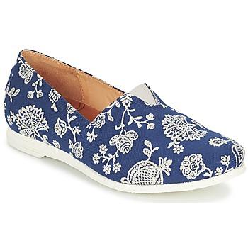 Zapatos Mujer Slip on Think GRIVA Marino / Blanco
