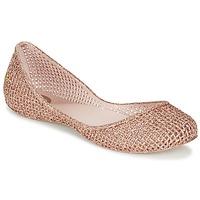 Zapatos Mujer Bailarinas-manoletinas Zaxy AMORA Rosa / Metalizado