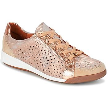 Zapatos Mujer Zapatillas bajas Ara ZIMELLE Rosa / Metalizado