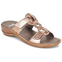 Zapatos Mujer Zuecos (Mules) Ara AGLIMELLE Oro / Rosa