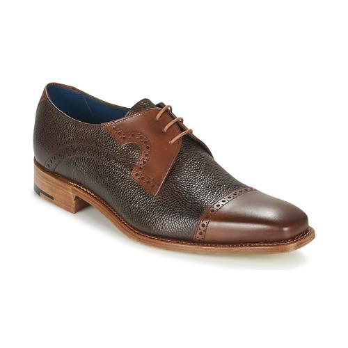 Zapatos Hombre Derbie Barker APPOLLO Marrón