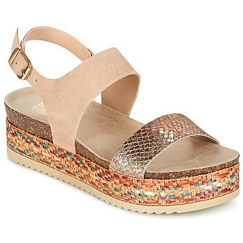 Zapatos Mujer Sandalias Bullboxer GROJETINE Beige / Multicolor