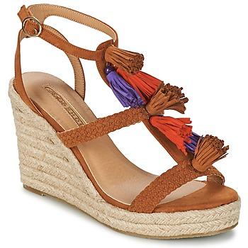 Zapatos Mujer Sandalias Buffalo VARIN Marrón