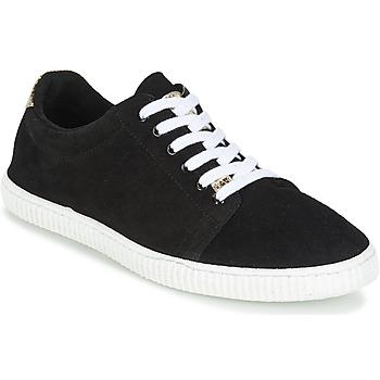 Zapatos Mujer Zapatillas bajas Chipie JERBY Negro / Dorado